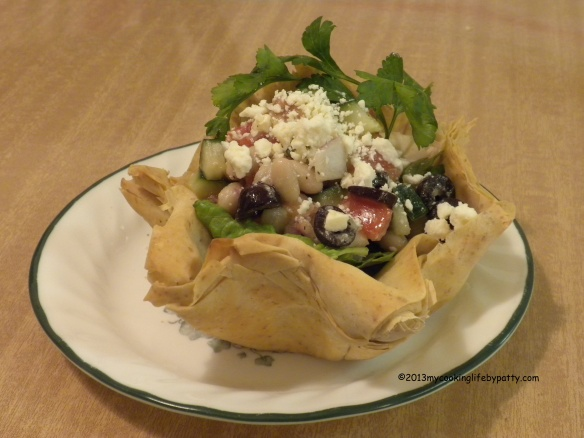 GREEK TACO SALAD