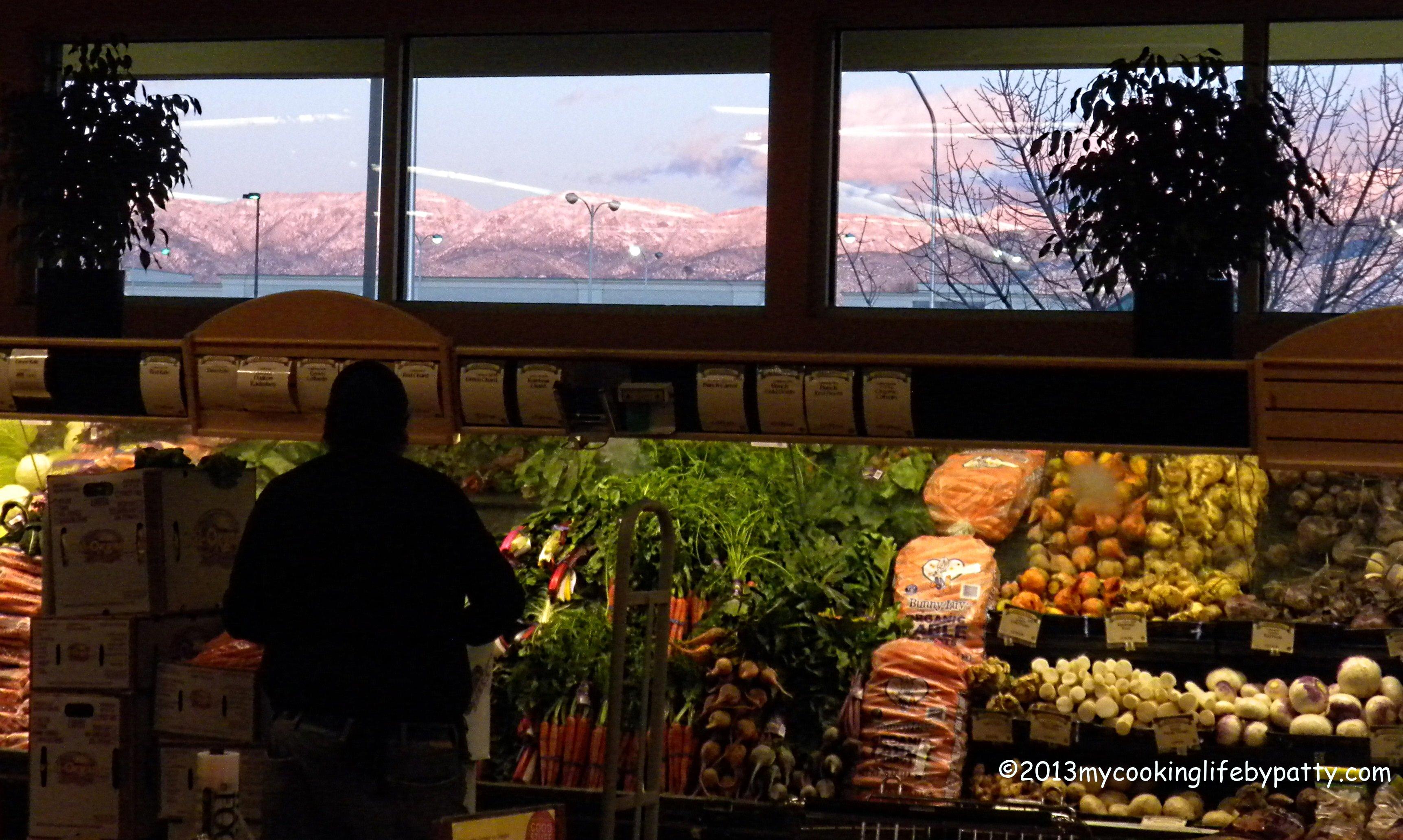 "My ""pharmacy"" at sunset."