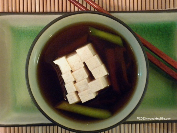 Dashi makes a light and flavorful base for your springtime soup bowl.