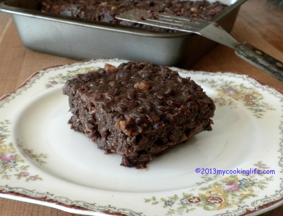 Aduki bean squares would be nice served as a side with udon noodles and veggies, or a fresh salad.