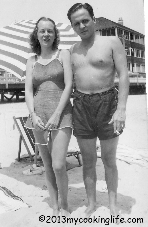 They met at Rehoboth Beach, Delaware. She was 16 and he was 25! What did Grandmother think of that?