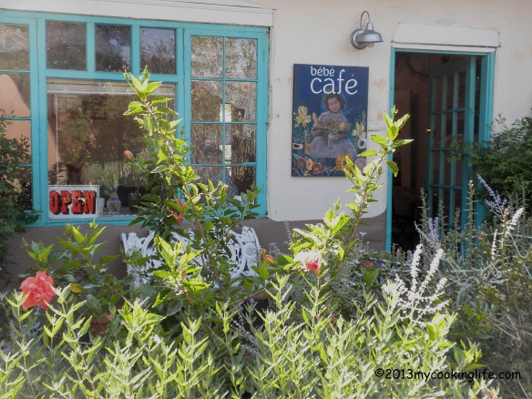 BeBe Cafe at 206 1/2 San Felipe NW, in Old Town was our destination this morning.