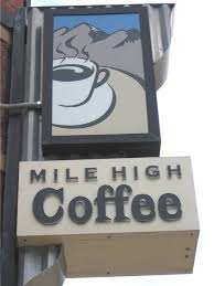 mile high sign