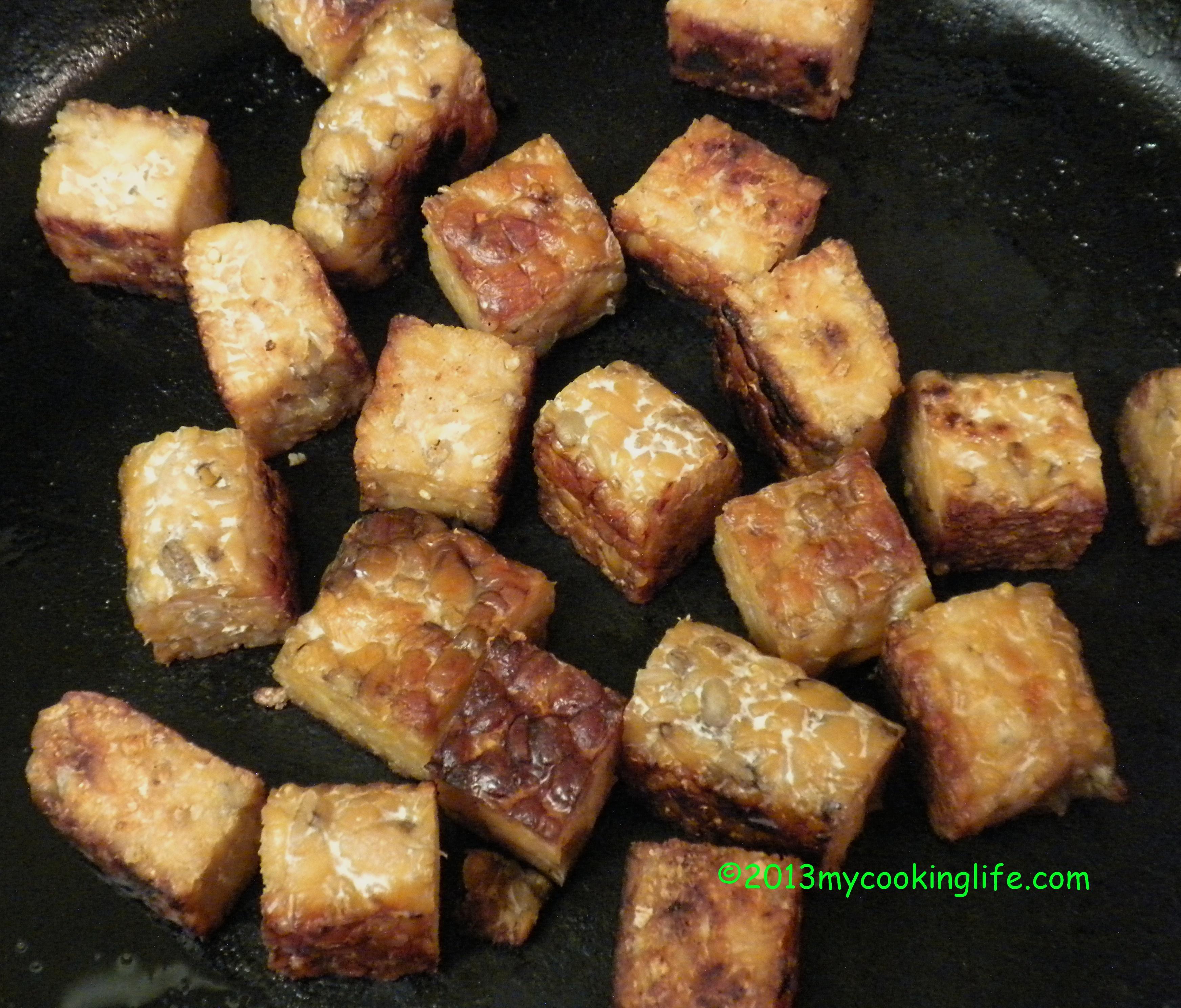 Fried Tempeh Calories