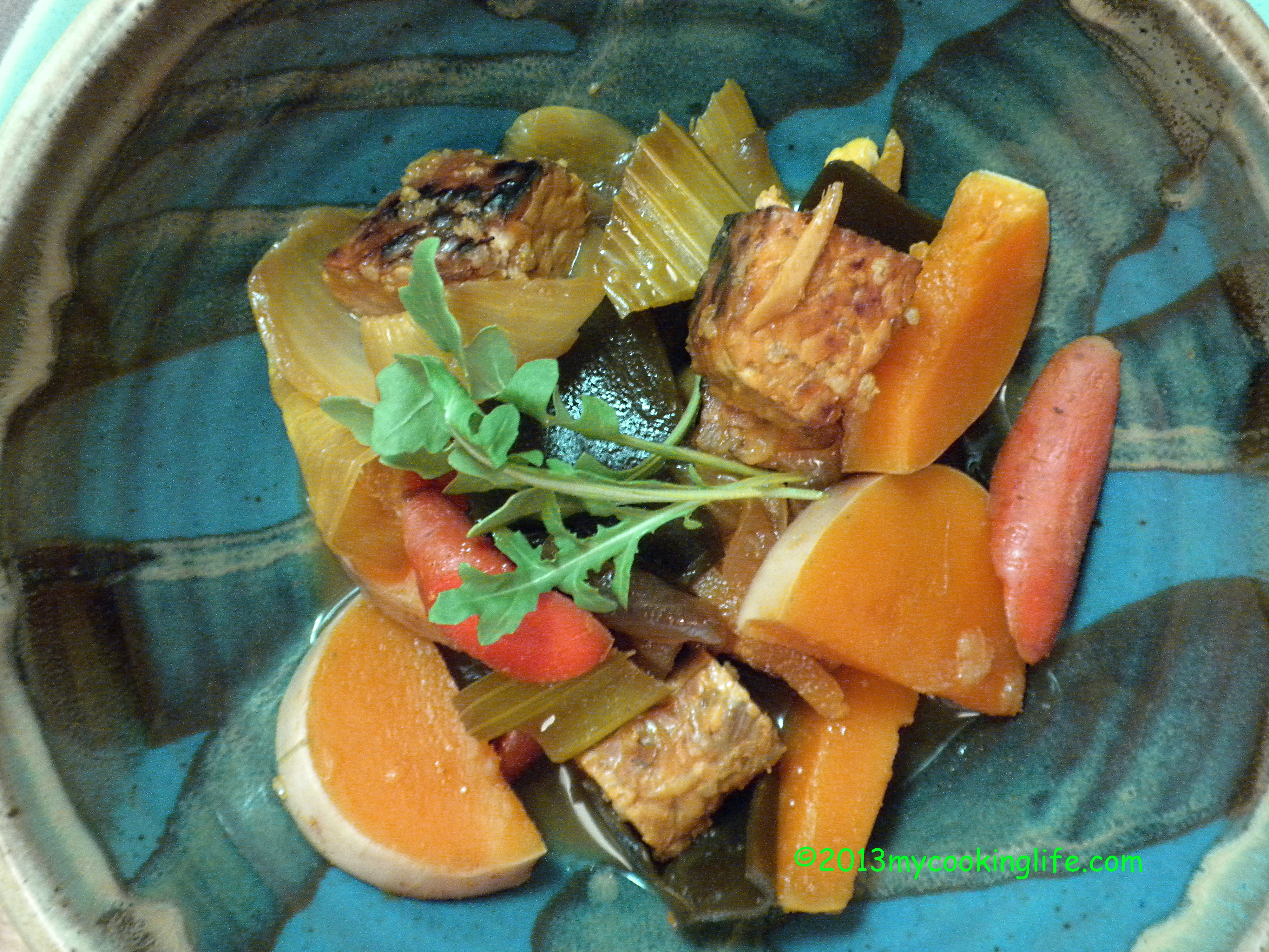 PAINT HARVEST MOON TEMPEH STEW COMPLETED 002