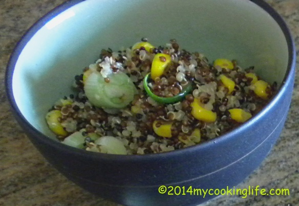 QUINOA AND CORN